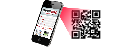 Mobidoo make scanning QR Codes easy