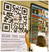 Mobidoo mobile sites come with QR Codes