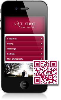 Real business example using Mobidoo for their mobile website