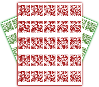 Free QR Code sticker sheets with every purchase!